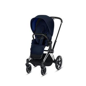 Cybex - BU171 - Poussette Priam 2019  Alu-noir Indigo blue (398072)