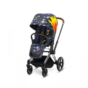 Cybex - BU175 - Poussette Priam 2020  Alu-marron Anna K Space Rocket (398080)