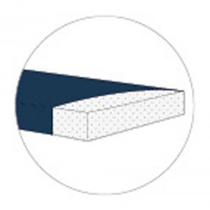 Candide - 574251 - Matelas fresh déhoussable 60x120 cm (épaisseur 10 cm) fab tunisie (398266)