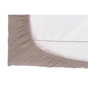Candide - 150363 - Housse de matelas à langer éponge  50x75cm gris clair (398346)
