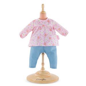 Corolle - 160020 - Bb42 blouse & pantalon - taille 42cm - âge : 2+ (398796)