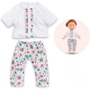 Corolle - 210950 - Ma Corolle blouse & legging tropicorolle - taille 36 cm - âge : 4+ (398828)