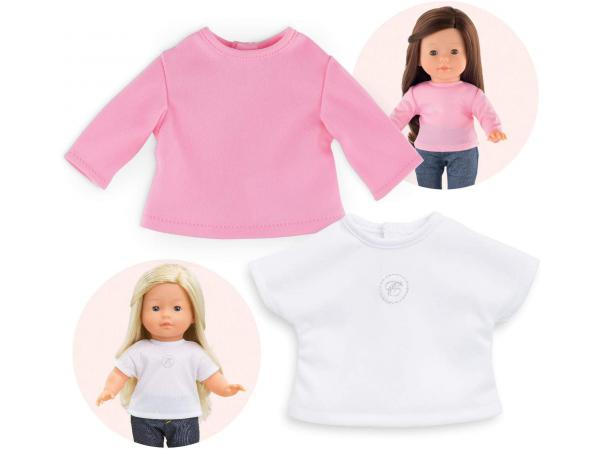 Ma corolle 2 t-shirts - taille 36 cm - âge : 4+