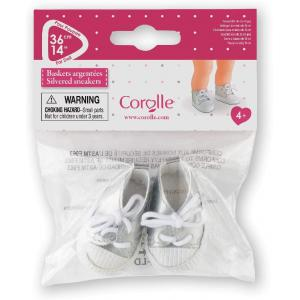 Corolle - 210070 - Les chaussures  Ma Corolle baskets argentées - age 4+ (398876)