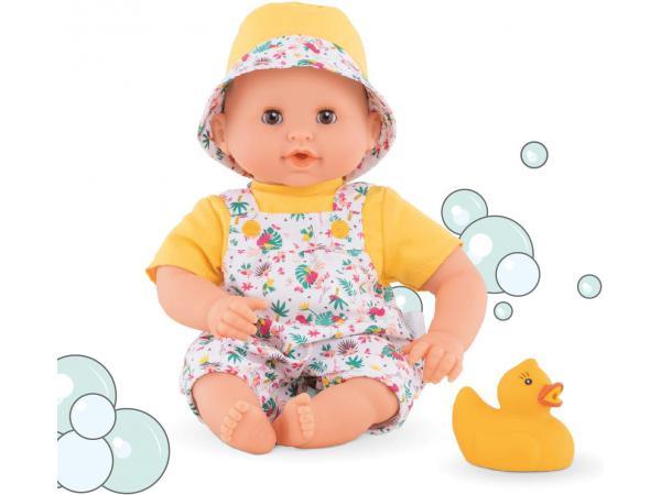 Bébé bain tropicorolle - taille 30 cm - âge : 18 mois