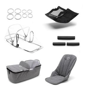 Bugaboo - 230255GM01 - Bugaboo Fox style set Gris chiné (399068)