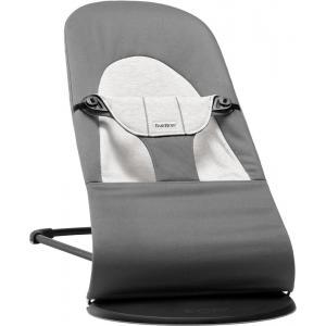 Babybjorn - 005089 - Transat Balance Soft, Gris foncé/Gris, Coton/Jersey (399124)
