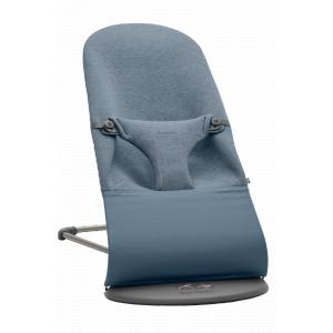 Babybjorn - 006031 - Transat Bliss, Bleu chiné, Jersey 3D (399128)
