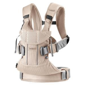 Babybjorn - 098001 - Baby Carrier One Air, Pearly Pink, 3D Mesh (399138)
