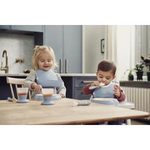 Babybjorn - 052041 - Mini Bavoir, lot de 2, Jaune pastel/Bleu pastel (399168)