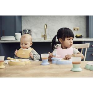 Babybjorn - 052042 - Mini Bavoir, lot de 2, Jaune pastel/Vert pastel (399170)