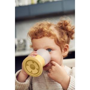 Babybjorn - 072166 - Verre pour Bébé, lot de 2, Jaune pastel (399194)