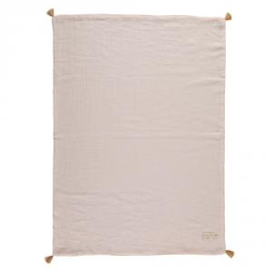 Nobodinoz - N109725 - Couverture d'été Treasure 70x100 Dream Pink (399328)