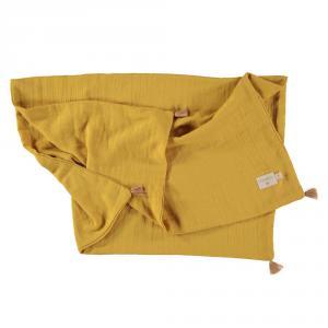 Nobodinoz - N109732 - Couverture d'été Treasure 70x100 Farniente Yellow (399330)