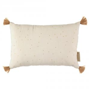 Nobodinoz - N109916 - Coussin Sublim 20x35 Honey Sweet Dots Natural (399372)