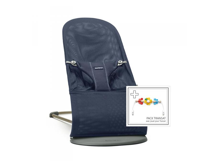 Babybjorn Bouncer Bliss Navy Blue 3d Mesh With Flying