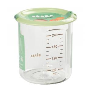 Beaba - 912709 - Maxi Portion 240 ml Tritan light green (399448)