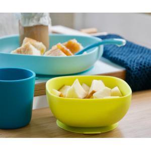 Beaba - 913428 - Set vaisselle silicone 4 pièces blue (399470)