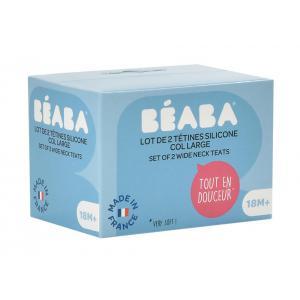 Beaba - 911659 - Lot de 2 tétines - Liquide épais Y-cut (399500)