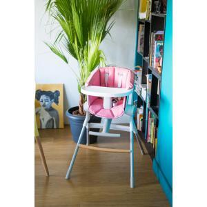 Beaba - 912588 - Assise Chaise Haute UpetDown pink (399512)