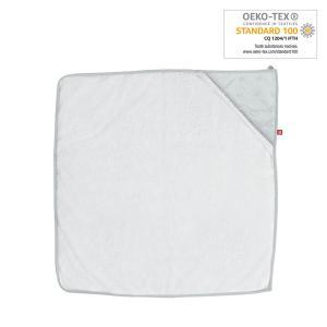 Red Castle  - 0304177 - Sortie de bain 1m x 1m - Plumetis gris - blanc/plemtis gris (399612)