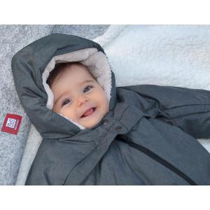 Red Castle  - 0827156 - Combi T-zip - 6-12m Gris chine (399638)