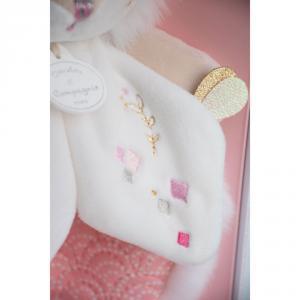 Doudou et compagnie - DC3489 - Lapin de sucre rose - doudou - 24 cm (399746)