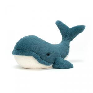 Jellycat - WW2B - Peluche Whale Wally  Grand Animal Marin - 44 cm (399944)