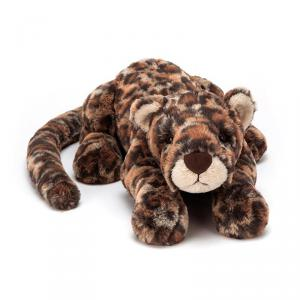 Jellycat - LIV4LL - Peluche leopard Livi - Littl - L = 8 cm x l = 29 cm x H =8 cm (399966)