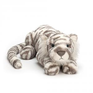 Jellycat - SACRB1T - Peluche Tigre  des Neiges Animal Sauvage Sacha Très Grand - 74 cm (399968)