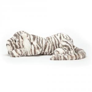 Jellycat - SACRB1T - Peluche tigre de neige Sacha - L = 23 cm x l = 74 cm x H =23 cm (399968)