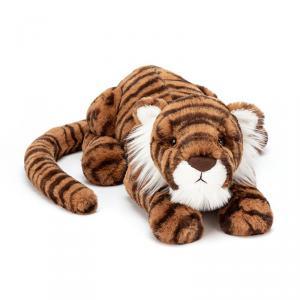 Jellycat - TA1T - Peluche tigre Tia - L = 14 cm x l = 46 cm x H =12 cm (399974)