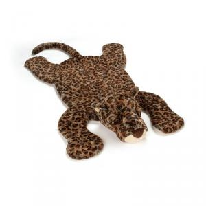 Jellycat - LIV1PM - Tapis de Jeu Léopard  Animal Sauvage Livi - 85 cm (399978)