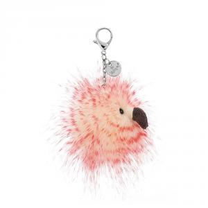 Jellycat - FYF4BC - Flaunt Your Feathers Bag Charm - 7 cm (400112)