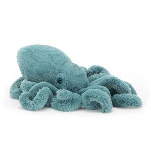 Jellycat - SOL2SQL - Peluche Animal Marin Calamar Sol Petit - 23 cm (400254)
