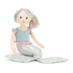 Jellycat - AQ2LT - Peluche Sirène Aqua-Lily Petite - 18 cm (400280)