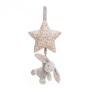Jellycat - BAMS4BS - Blossom Silver Bunny Musical Pull - 28cm (400608)