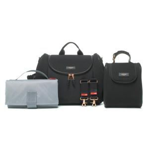 Storksak - SK4300 - Sac Poppy Luxe Scuba noir (401038)