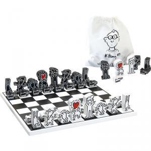 Vilac - 9221 - Jeu d'échecs Keith Haring - à partir de 6+ (401276)