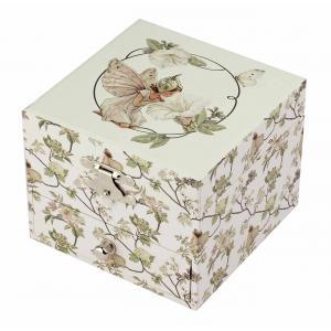 Trousselier - S20617 - Boite à Musique Cube Flower Fairies© - Narcisse (403444)