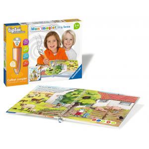 Ravensburger - 00035 - Jeux éducatifs Tiptoi - Coffret complet lecteur interactif + Livre Imagier A la ferme (403750)