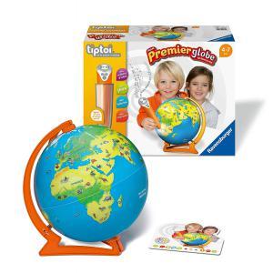 Ravensburger - 00034 - Jeux éducatifs Tiptoi - Coffret complet lecteur interactif + Mon 1er Globe interactif (403754)