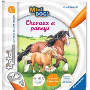 Ravensburger - 00031 - Jeux éducatifs Tiptoi - Mini Doc' - Chevaux et poneys (403766)