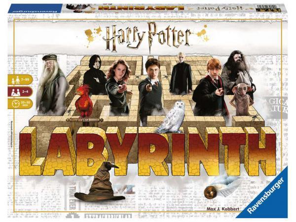 Jeux de société famille - jeux de réflexion -labyrinthe harry potter
