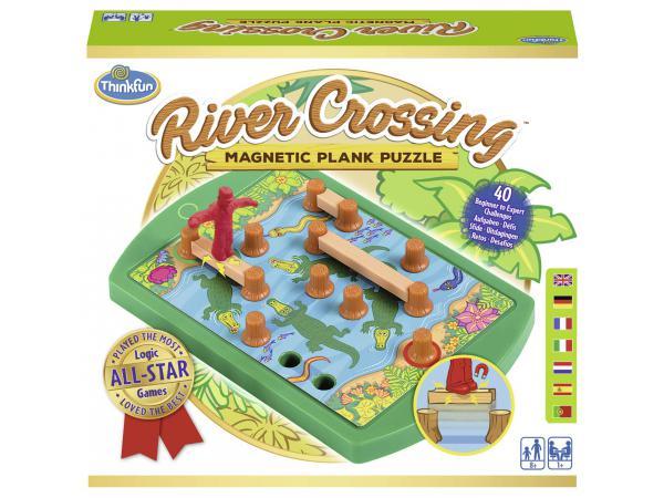 Jeux de société famille - thinkfun -river crossing