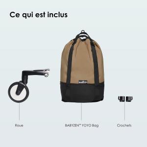 Babyzen - BZ10212-12 - Sac shopping YOYO bag Toffee (405704)