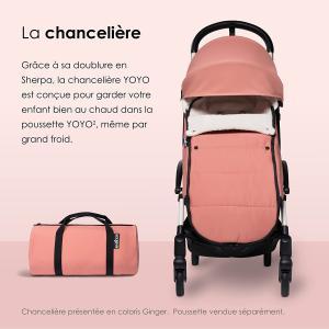 Babyzen - BZ10209-12 - Chancelière Yoyo Toffee doublée et son sac de rangement (405726)