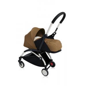 Babyzen - Bu101 - Poussette Yoyo+ cadre blanc pack naissance Toffee (405732)