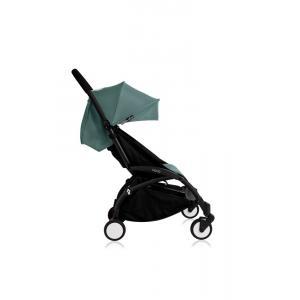 Babyzen - Bu108 - Poussette Yoyo+ cadre noir pack couleur 6+ Aqua (405746)