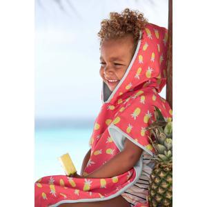 Lassig - 1433003730 - Poncho de plage filles Ananas (406306)